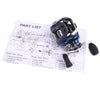 11 Ball Bearings Left/Right Hand Bait Casting Fishing Reel AF103