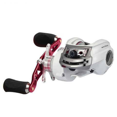 WHITEMAX Low Profile  11+1BB 5.3:1 GR Baitcasting Reel