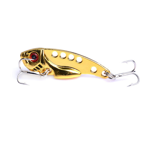Metal VIB Vivid 3D Eyes Hard Bait Long Casting Sinking Winter Fishing Lure Professional Wobblers
