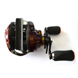 FISHDROPS 17+1 BB 6.3:1 GR Ultra Light Low Profile Baitcasting Reel