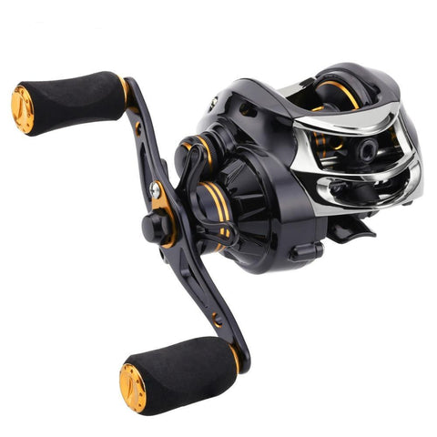 Fishing Savage LYCAN Baitcasting Reel, Gear Ratio 7.0:1, 12BB, Magnetic Brake System, 5KG Drag