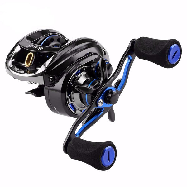 DRYAD High Speed 7.6:1 Carbon Fiber Drag System 11+1BB Bait Casting Reel