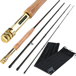 Sougayilang Fly Fishing Rod & Reel Combo