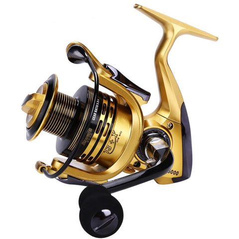 SOUGAYILANG GB2000 - 5000 13+1 BB 4.7:1 or 5.5:1 GR Fresh or Saltwater Spinning Reel