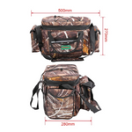 Waterproof Nylon Large Capacity Multi Purpose Fishing Tackle Bag