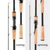 Obei Hurricane 3 Section Casting & Spinning Ultra Light M/ML/MH Rod