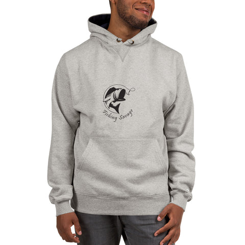 Fishing Savage Champion Hoodie