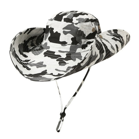 UPF50+ Mesh Fishing Hat