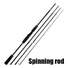 Fishing Savage SCEPTER Casting/Spinning Rod 2.1M 2.4M 4 Section