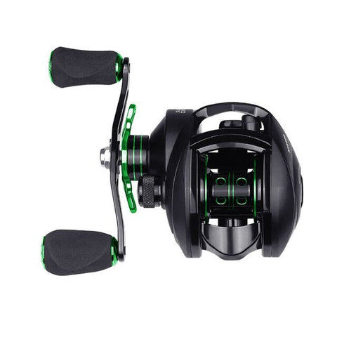 NEW TONQUU High Speed Anti Corrosion 8:1:1 Bait Casting Reel
