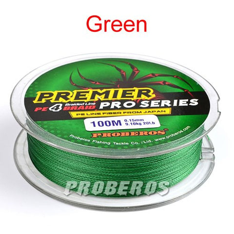 100M PRO BEROS Premier Pro Series Braided Fishing Line