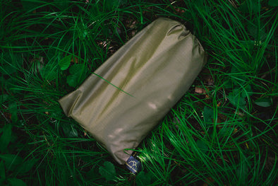 10' x 10' PU Coated Ripstop Nylon Tarp: Coyote Brown