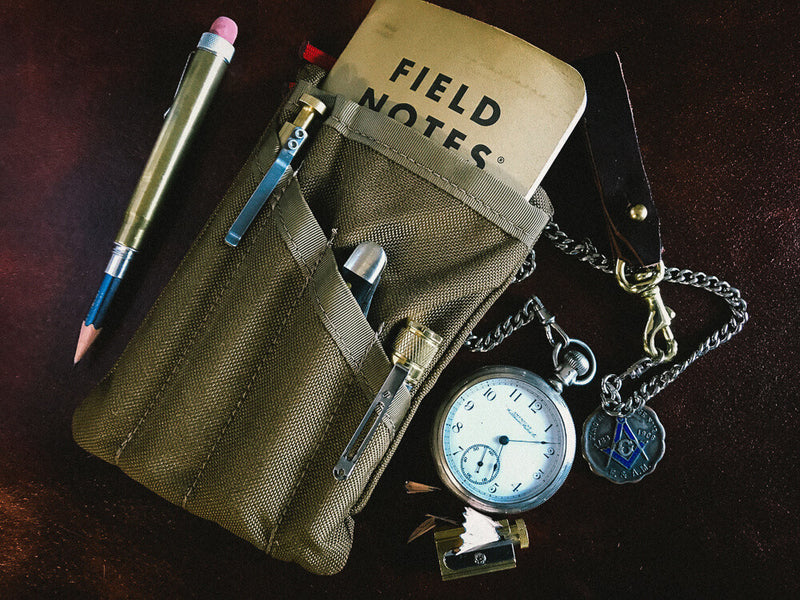 PocKit Pro EDC Organizer: Coyote Brown Classic Carry