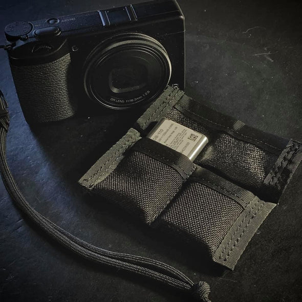 Ricoh GR Double Battery Pocket Slip
