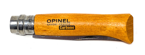 Opinel No. 08 Carbone Pocket Knife