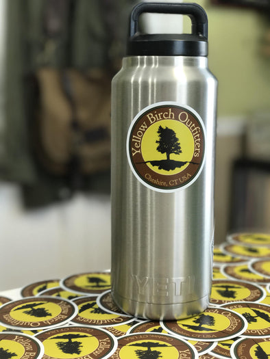 "Yellow Birch Outfitters 3"" vinyl logo sticker"