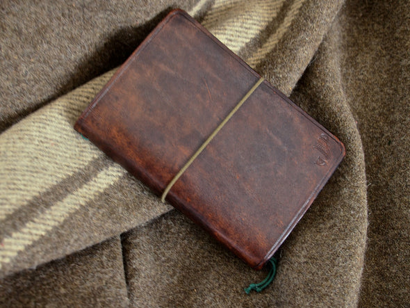 Handmade Leather Expedition Notebook for Field Notes notebooks