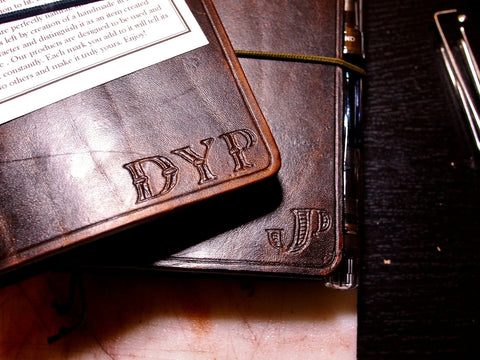 Monogramming for your leather product