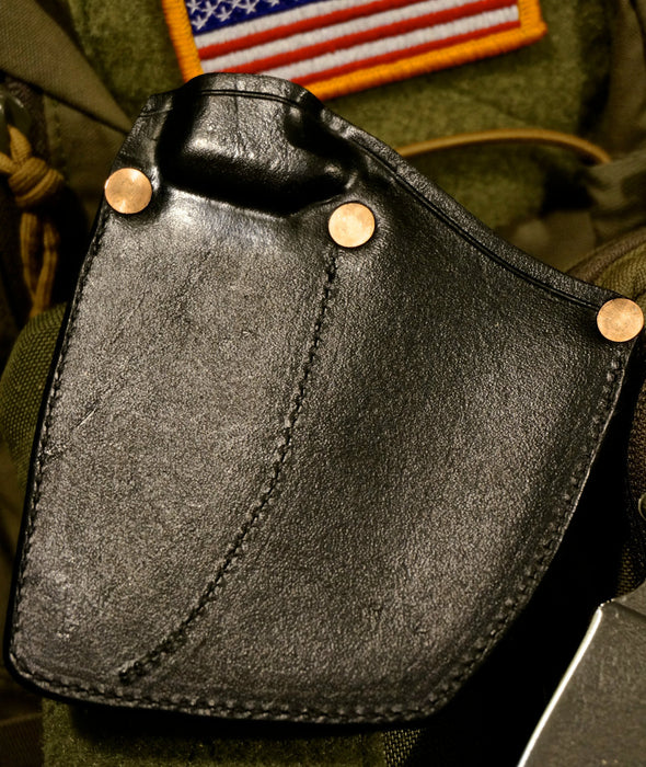 "The ""Rat Trap"" Handmade Leather Welted Pocket Sheath"