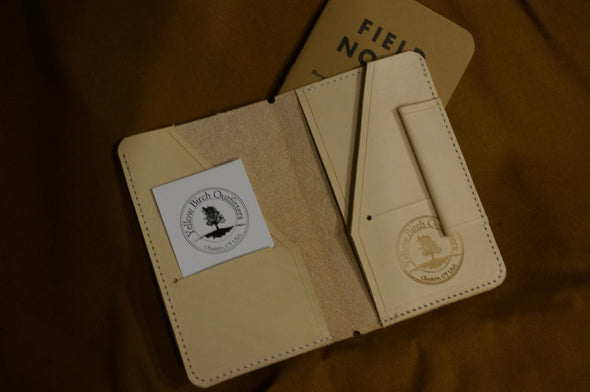 The Original leather folder insert for our Expedition Notebooks, or Passport sized Midori TN