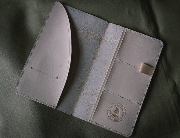 The Original DELUXE Handmade leather MTN Wayfarer Folder
