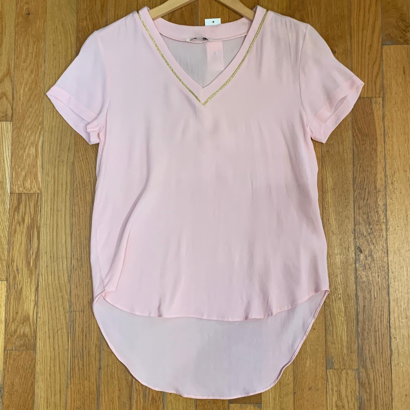 """Pretty In Pink"" V-Neck"