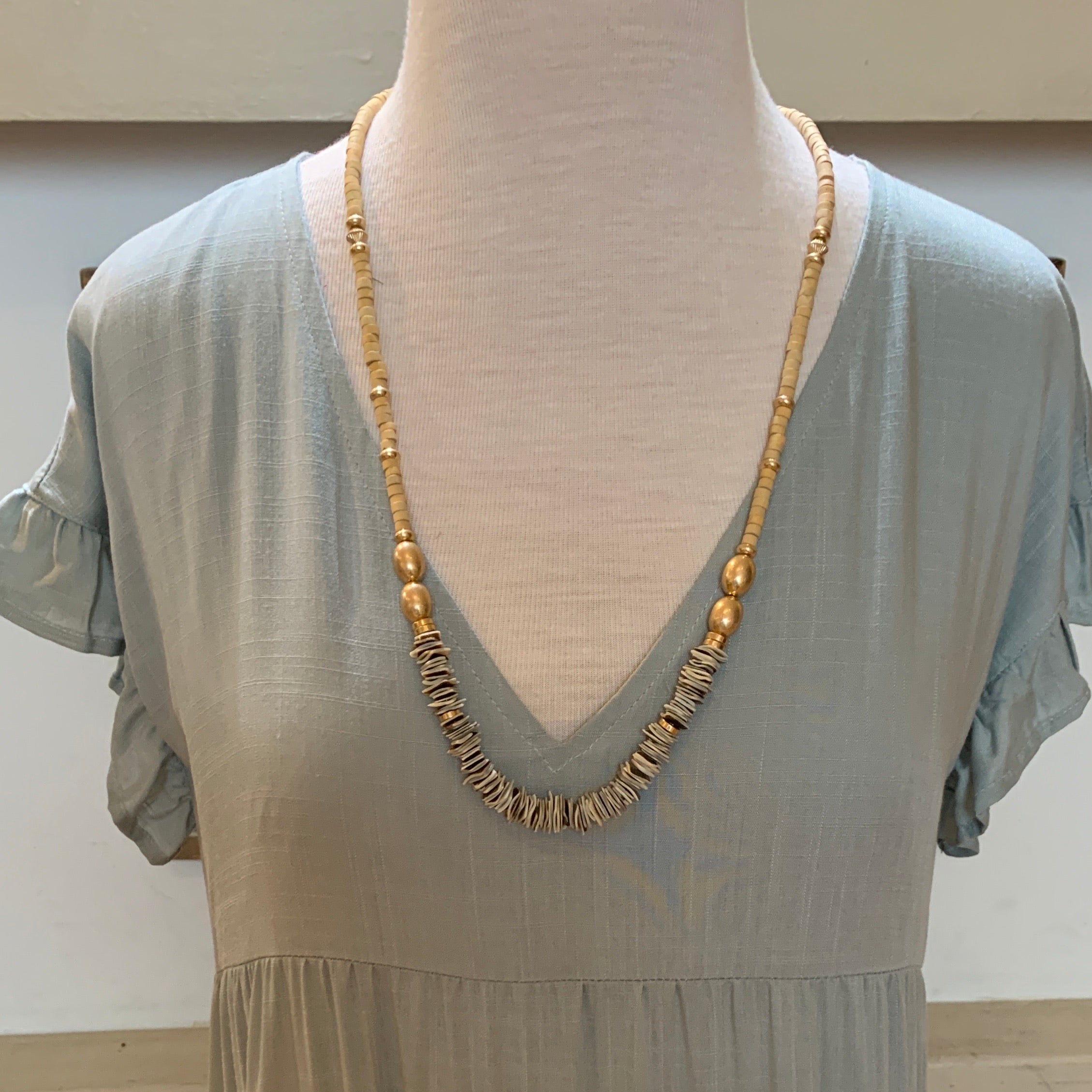 Shell & Bead Necklace