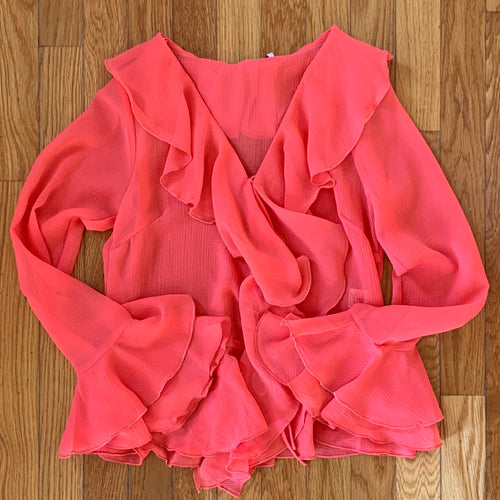 The Ruffle Blouse