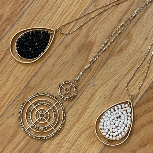 Bead Pendant Necklaces