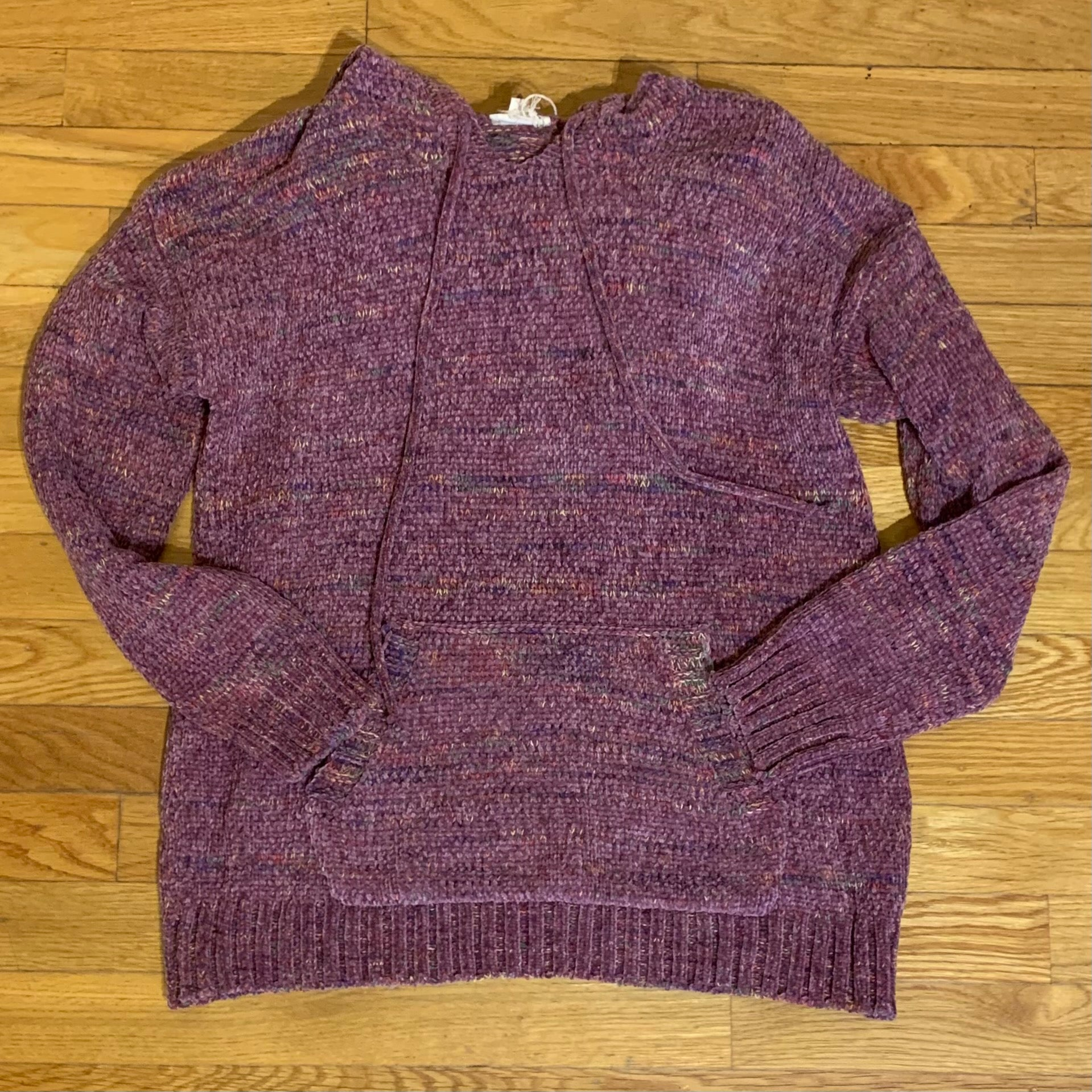 Berry Chenille Hoodie