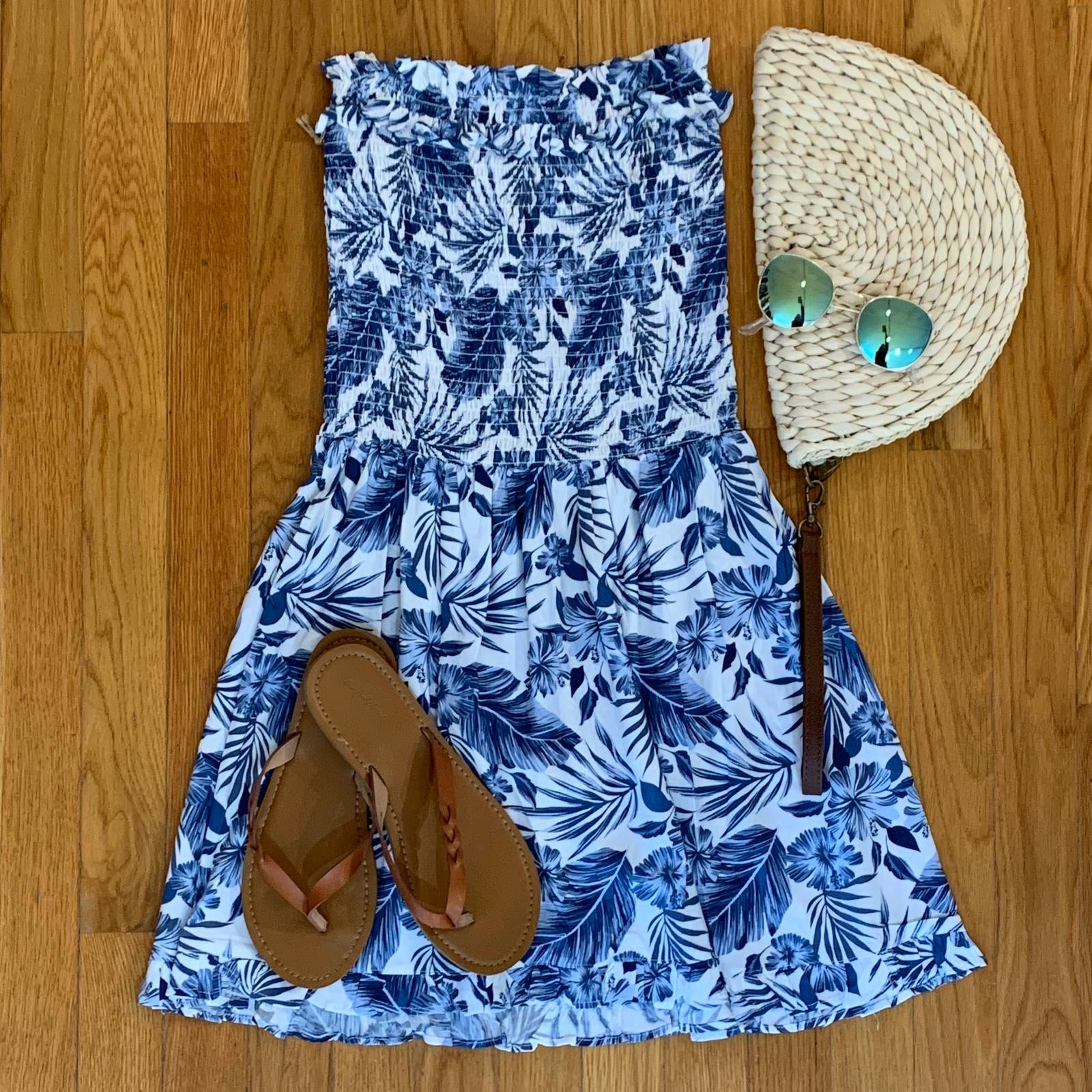 Tropical Tube Dress