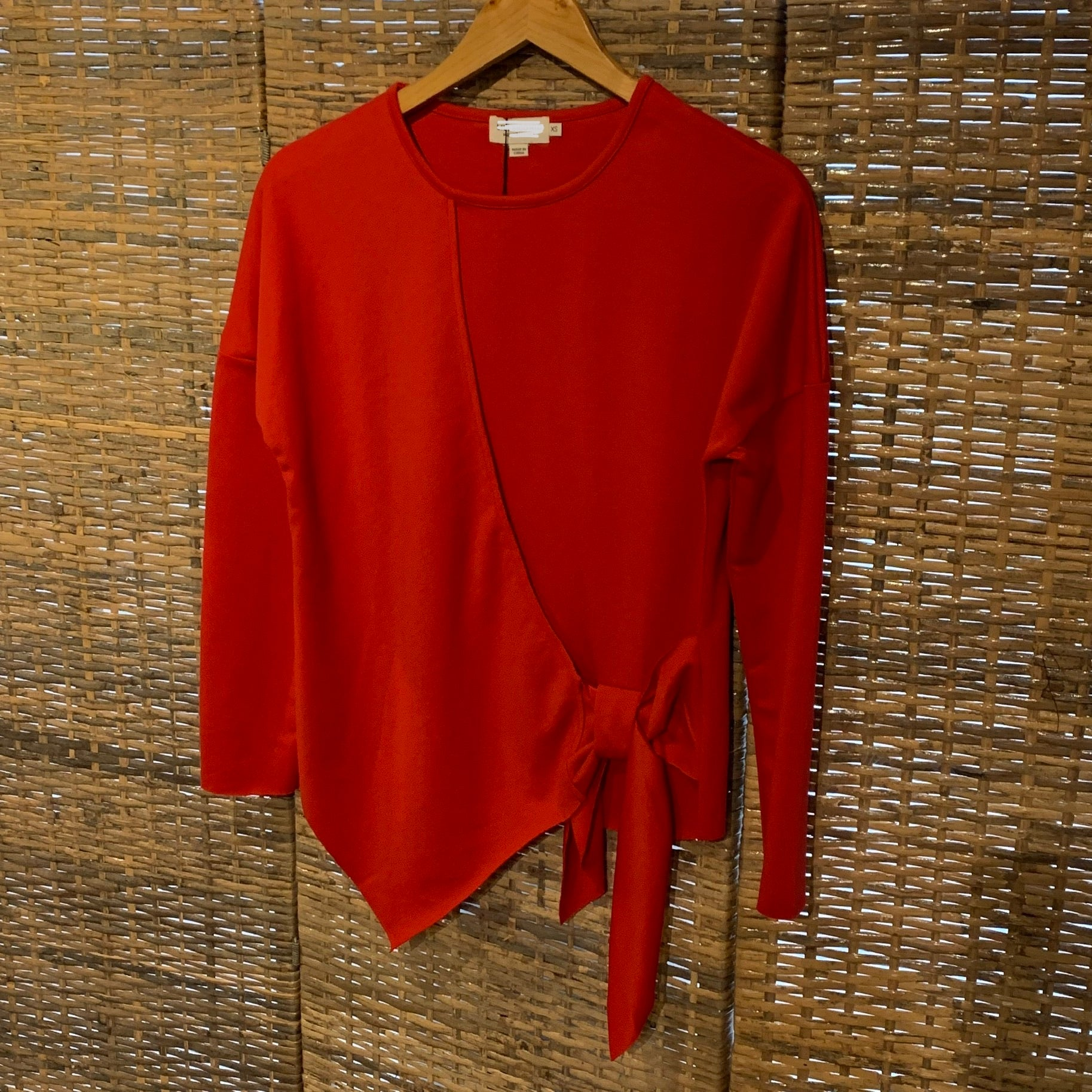 BESTSELLER Side Faux Wrap Top