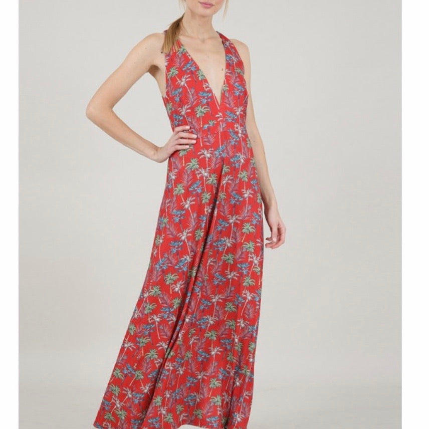 Red Palm Maxi