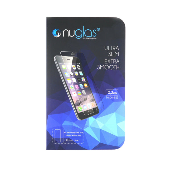 NuGlas Tempered Glass Screen Protector for iPhone 6 Plus/6s Plus -