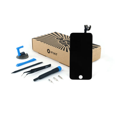 iPhone 6 LCD Screen and Digitizer Full Assembly - New Fix Kit Black
