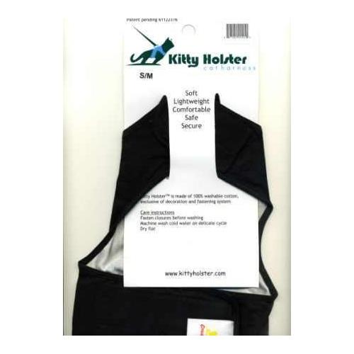 Kitty Holster Cat Harness Black XL