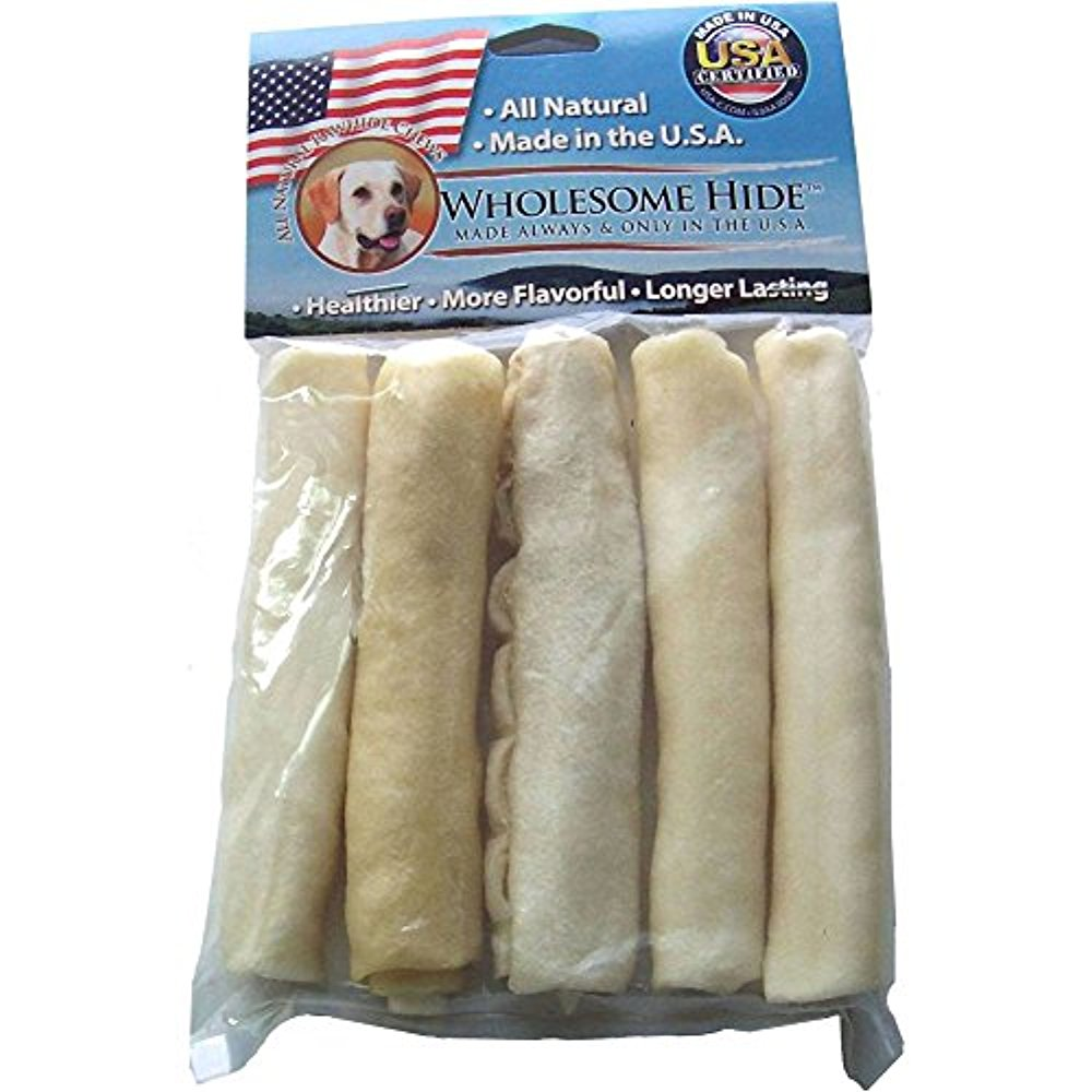Wholesome Hide Mini Retriever Roll 5Pk
