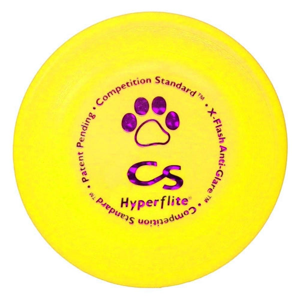 Hyperflite K-10 Competition Standard Dog Disc Yellow