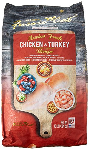 Fussie Cat 32065 Market Fresh Chicken & Turkey Recipe (1 Pack), 10 lb/One Size