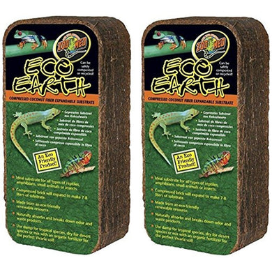 Zoo Med Eco Earth Bricks (2 Pack)
