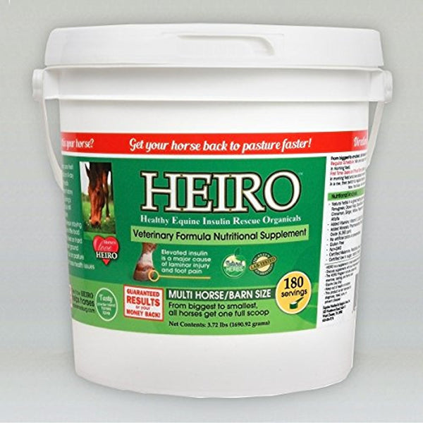 HEIRO Healthy Equine Insulin Rescue Organical 1800 Day Supply