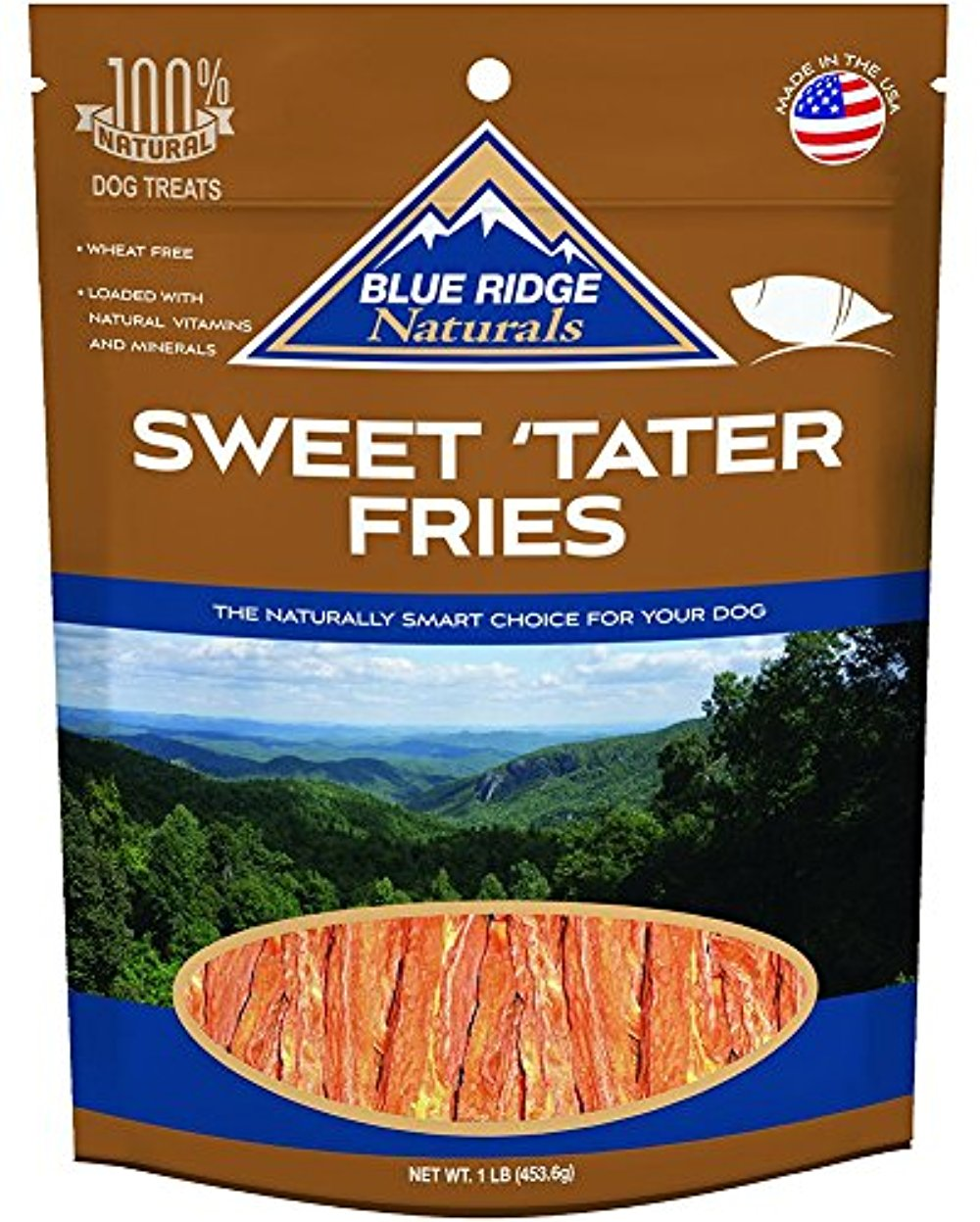 Blue Ridge Naturals Sweet Tater Fries 1 Pound (2 Pack)