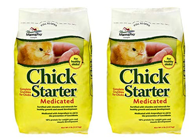 Manna Pro Chick Medicated, 5 Pounds (Pack of 2)