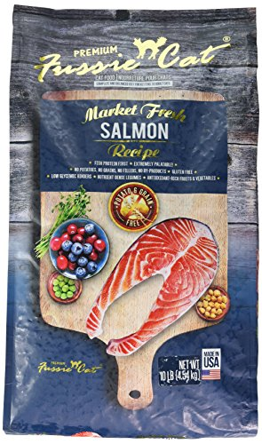 Fussie Cat 32017 Market Fresh Salmon Recipe (1 Pack), 10 lb/One Size