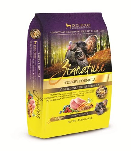 Zignature Turkey Dry Dog Food, 13.5-Pound