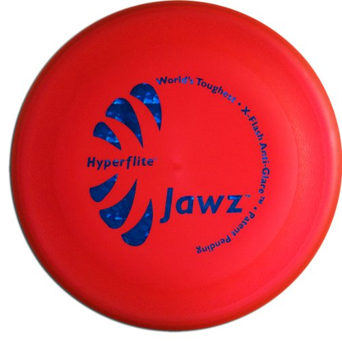 Hyperflite Jawz Competition Dog Disc 8.75 Inch, Worlds Toughest, Best Flying, Puncture Resistant, Dog Frisbee, Not a Toy Competition Grade, Outdoor Flying Disc Training Mango