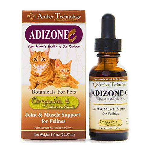 Amber Technology Adizone C Joint & Muscle Support for Felines, 1 oz