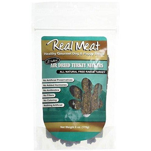 The Real Meat Company Co 80043 Turkey Ground Dried Necks