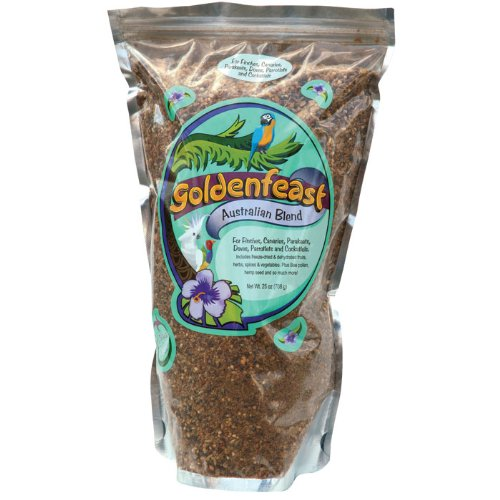 Goldenfeast Australian Blend 25oz Bird Food