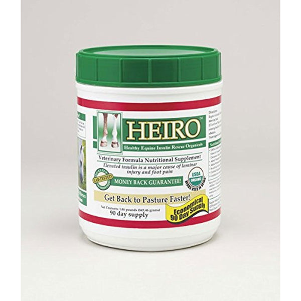 HEIRO Healthy Equine Insulin Rescue Organical 90 Day Supply
